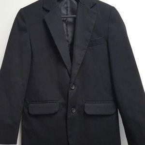 Boys Van Heusen Black Suit Coat Size 10
